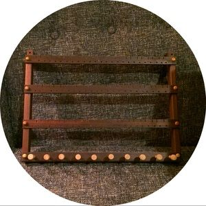 Handmade Wooden Jewelry Organizer